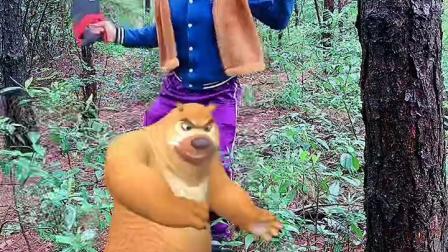 光头强和熊二是好朋友