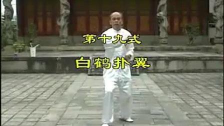 永春白鹤拳系列-白鹤展翼(上)