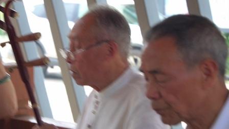 德清县原老年体协阳光艺术团民乐队解散四年后,2021年6月9日重聚二都小镇活动视频