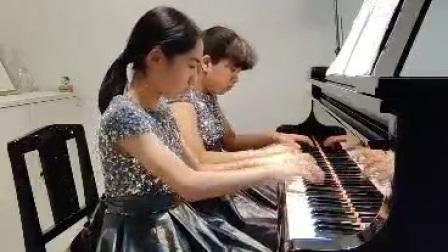 第十届深圳钢琴公开赛预选赛-四手联弹业余组-即兴加洛普舞曲(作者格林卡)-Pony