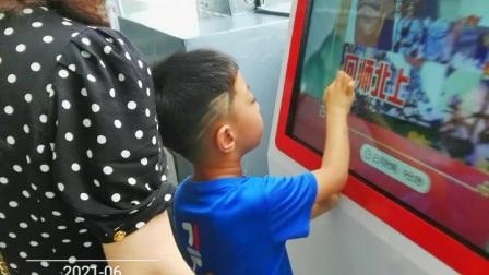 中山舰博物馆外旅游区景点,家人们凸照片视频……