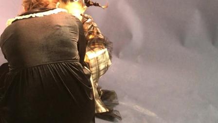 202101161049👨👩👧👦小旺仔@姜雨轩拍百日照第102天啦!姐姐单独照型私下留念,专门等姐姐休息拍小生姜@姜雨欣8周3个月13