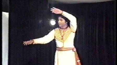 【令人惊叹的舞蹈技巧】印度卡塔克舞大师Durga Lal的表演 Kathak