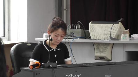 2021年木兰县中小学音乐教师基本功大赛现场