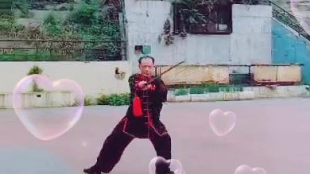 马俊胜老师演练的32式太极剑