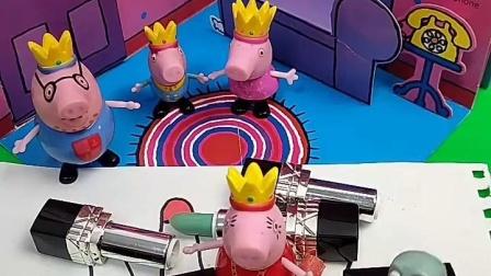 猪妈妈的口红被弄断了,到底是佩奇、乔治还是猪爸爸弄坏的,小朋友可以帮猪妈妈找出凶手吗?