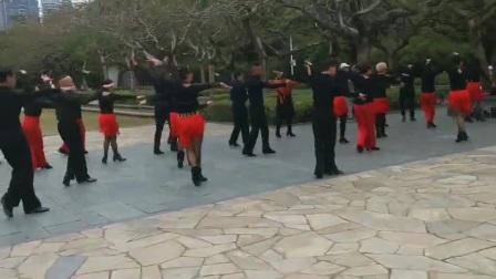 炫舞飞扬舞蹈队训练1