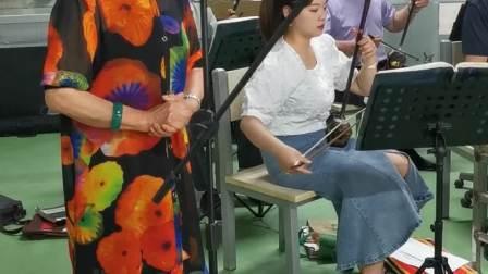 姜丽娥演唱吕剧《半夜夫妻》选段:听此言吓得我魂飞离