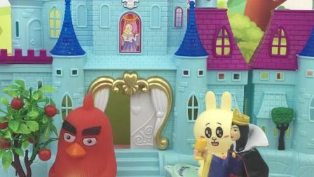 少儿亲子玩具:贝儿被王后抓起来了