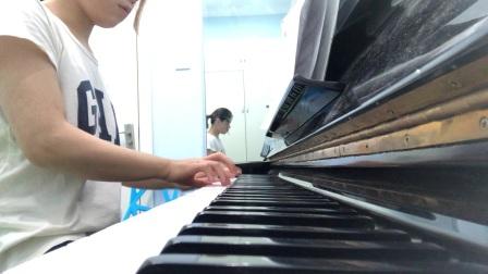 樊贝婷练琴模式开启