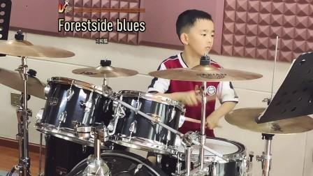 【架子鼓】《森林蓝调》刘峻麟 小鼓手