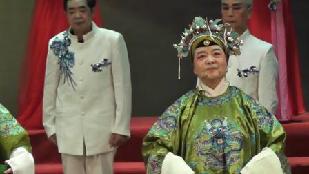 上饶老年大学京剧团表演《京剧联唱》2021,6,22