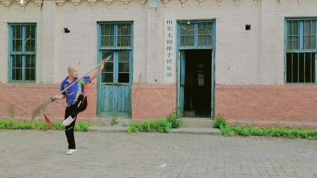 #✅中华太极春秋大刀✅滨州太极剑博兴太极拳✅#中国太极拳最具有影响力人物 📍山东太极推手俱乐部
