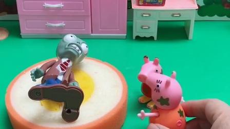 益智玩具:乔治床上躺个僵尸,乔治去哪了?