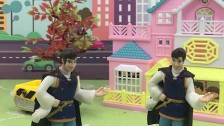少儿玩具:白雪上了巫婆的当,变成了王子