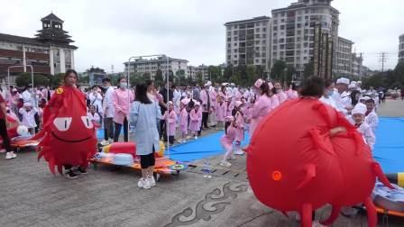 清泉路幼儿园、五贵路幼儿园抗疫主题大型活动