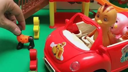 益智玩具:鸡妈妈着急去医院,路被挡住了该怎么办?