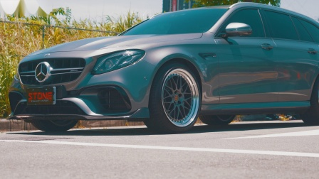 Mercedes AMG M177 S213 E63S / Stone Eddy Catted Downpipe
