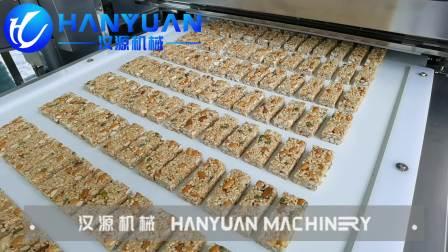 坚果能量棒全自动生产线设备