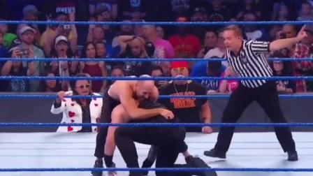 WWE拳王一拳一个精彩瞬间