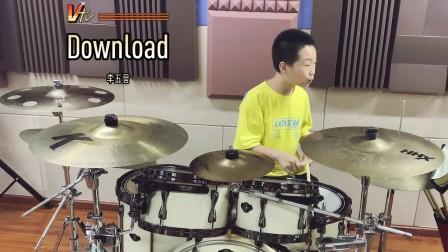 【架子鼓】《Download》李五言 小鼓手