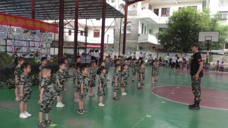 小天使幼儿园教学成果暨军警课展示 2021.6.23