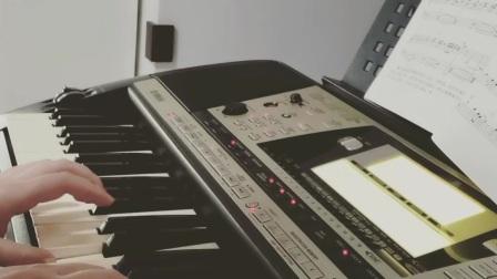 《鸽子》电子琴曲