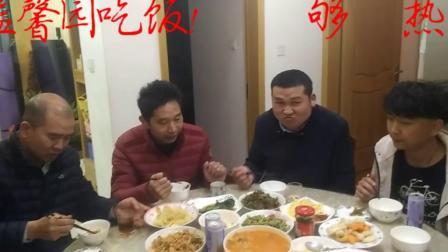 冉先辉2021,3月宁波市项隘馨园实拍家人亲戚吃饭视频!