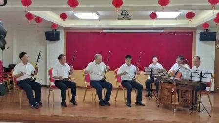 叶青笛子:龙川县民乐团合奏奏:长潭水暖