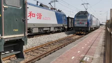 20210328 115907 阳安铁路HXD2货列通过王家坎站