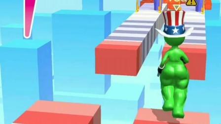 趣味小游戏:小红小绿比赛,还是小绿跑得快