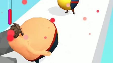 趣味小游戏:白雪给大肚子抓了,王子为了就她也吃成大肚子