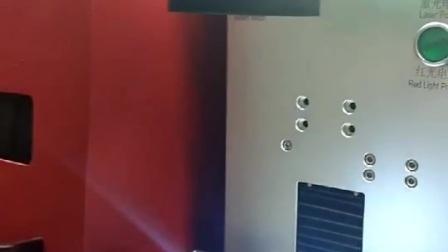 铭牌雕刻出来,贴在机器上,完美的显示了机器的独特
