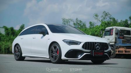 Mercedes AMG X118 M139 CLA45s / Stone Turbo-back Exhaust System
