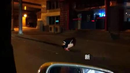 午夜美女当街呕吐...拍摄:黄富昌 制作:黄富昌