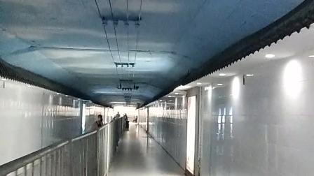 娄底火车站地下隧道夏天乘凉好地方,2021,7,31,15:57