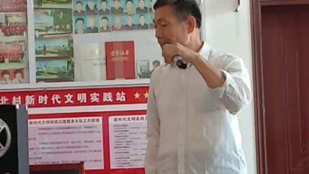 孙术强演唱武家坡选段一马离了西凉界,京胡李明武,司鼓王作祥