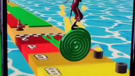 疯狂轮滑:有没有人能帮小舞滑到前面去