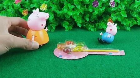 童年趣事:乔治想吃糖和想吃披萨的时候猪妈妈怎么说呢