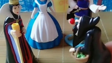 趣事童年:怎样才可以让白雪公主变正常呢