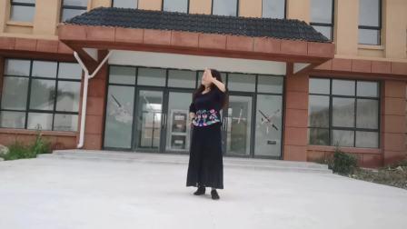 李青广场舞《网上这段缘》杨丽萍原创