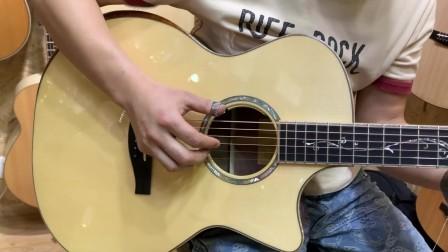 福州现代琴行 伊斯特曼Eastman AC822CE LTD 吉他音色试听