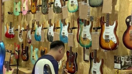 福州现代琴行 白老师演奏keipro KS150 吉他 音色试听