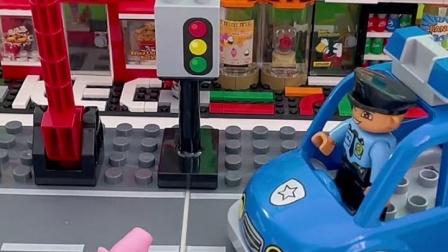 乔治,你应该坐那个车呢,有些车可是不能坐的哦