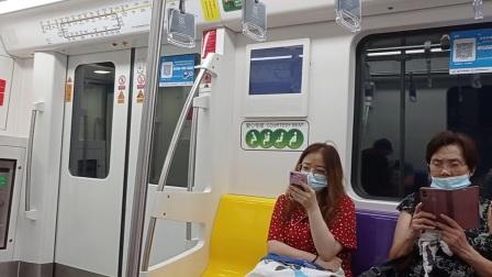 上海地铁3号线黑包公大柏树→赤峰路(终点站上海南站)