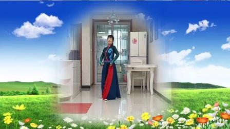 彬县广场舞《爱在草原》