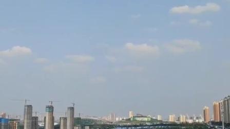泰安高铁新区粥顶山和新体育中心秋季游玩(1)