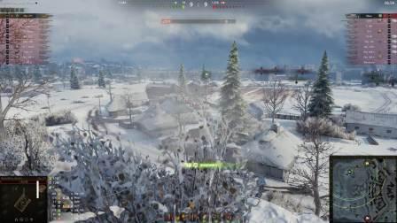 坦克世界 坦克世界 天神下凡277工程排位万伤究极走位意识炮法