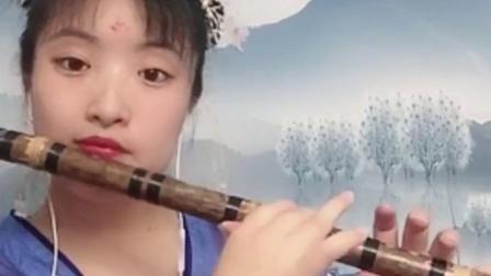 仙女笛子演奏西游记《天府乐》感觉来到天宫