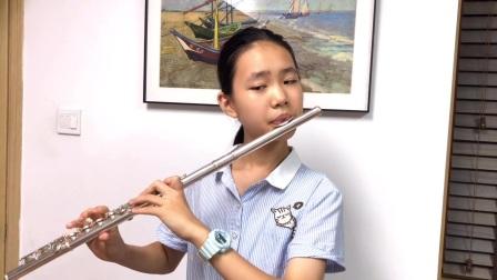 D大调长笛协奏曲第一乐章(MozartK.314)---伍好
